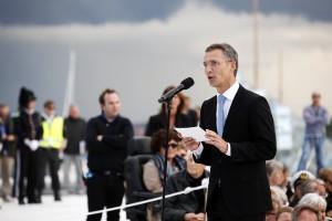 Feiringen av kongeparet på Operataket 31 mai 2012.