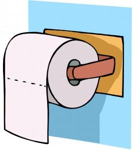 Det spiller stor rolle hvor dorullen blir plassert Foto: Clipart.com