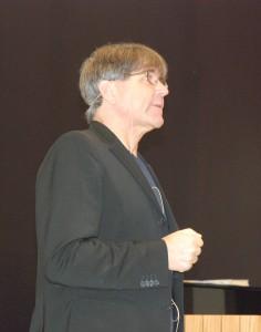 Foredragsholder og psykolog Torkil Berge. Foto: Trine Dahl-Johansen