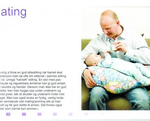 Bilde fra informasjonshefte om svangerskap