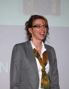 Sissel Urke Olsen holder foredrag