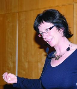 Ivana Hollan har forsket mye på bekhterevpasienter og hjerteproblemer. Foto: Trine Dahl-Johansen