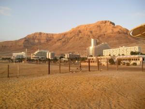 Morgenstemning ved Dødehavet