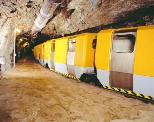 Toget i radongrotte