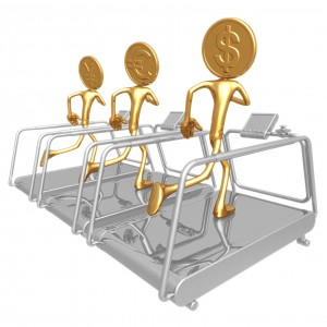 Ordinær trening på treningssenter regnes ikke som en merutgift. Foto: Scott Maxwell/Dreamstime.com