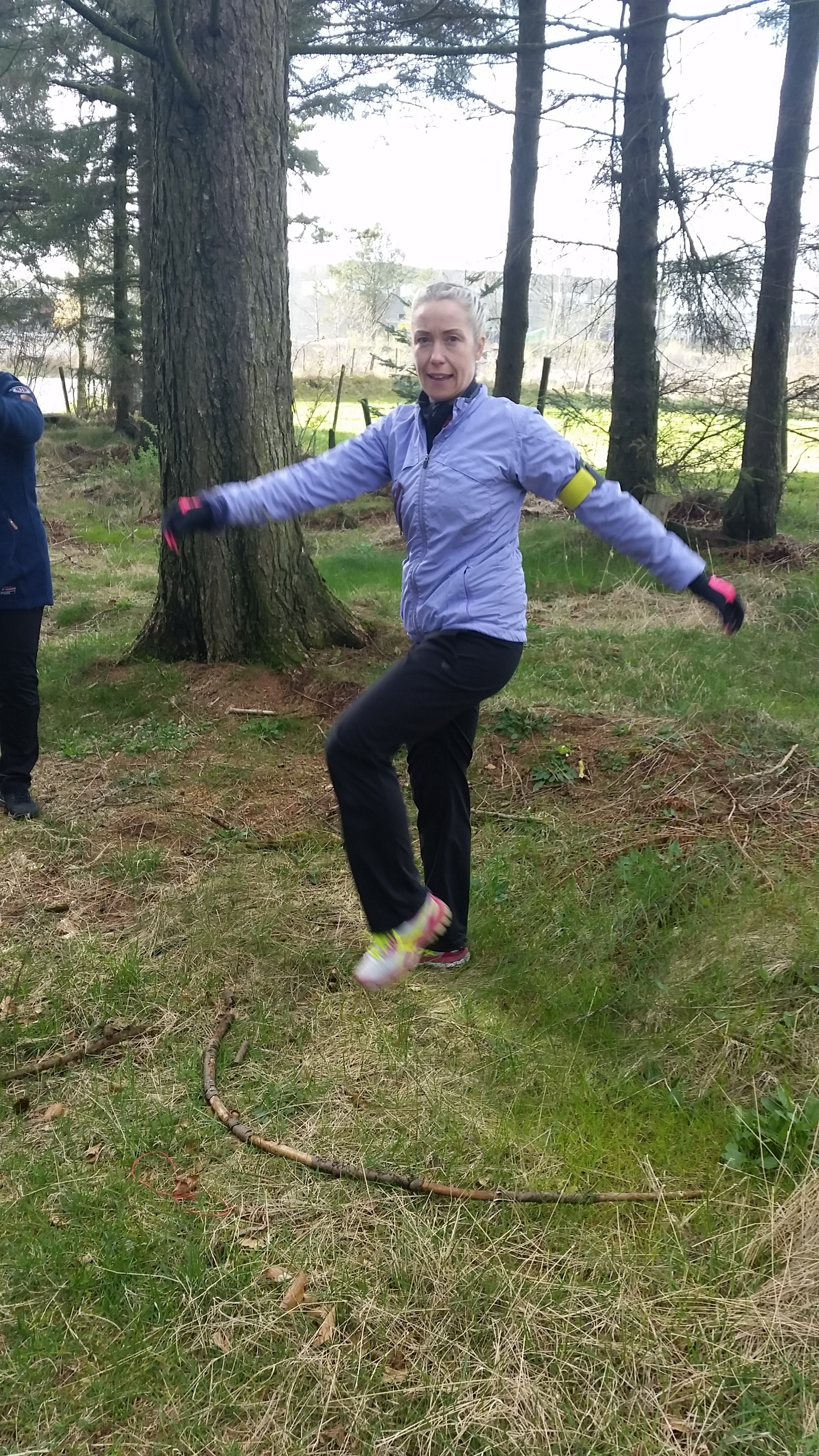 Camilla Aune twister i skogen