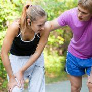 To slitne på joggetur