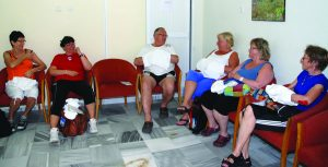 Mange sitter med parafinbehandling på hendene