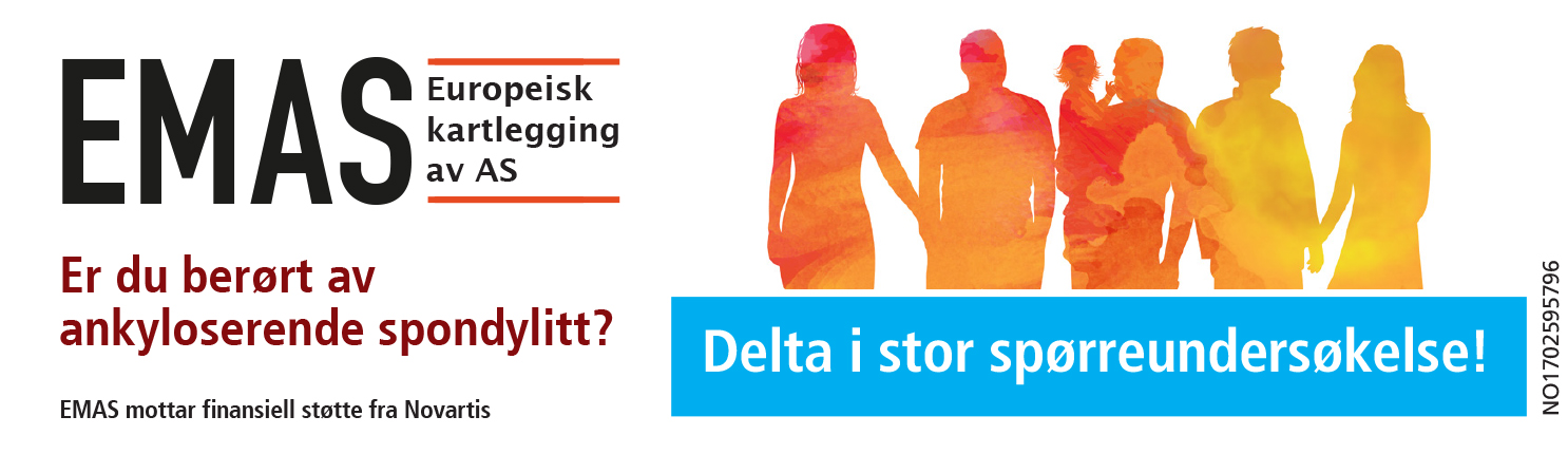Reklame for spørreundersøkelse kalt EMAS