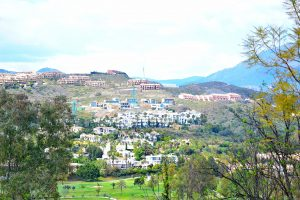 Landskapsbilde fra Estepona