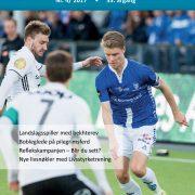 Forside Spondylitten 4-17 med fotballspiller Sigurd Rosted