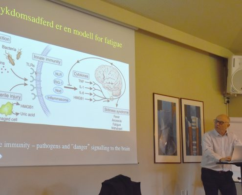Dr. Roald Omdal holder foredrag om fatigue