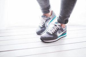 Et par ben i joggesko