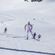Sjur Røthe skøyter på ski i Haukelirennet