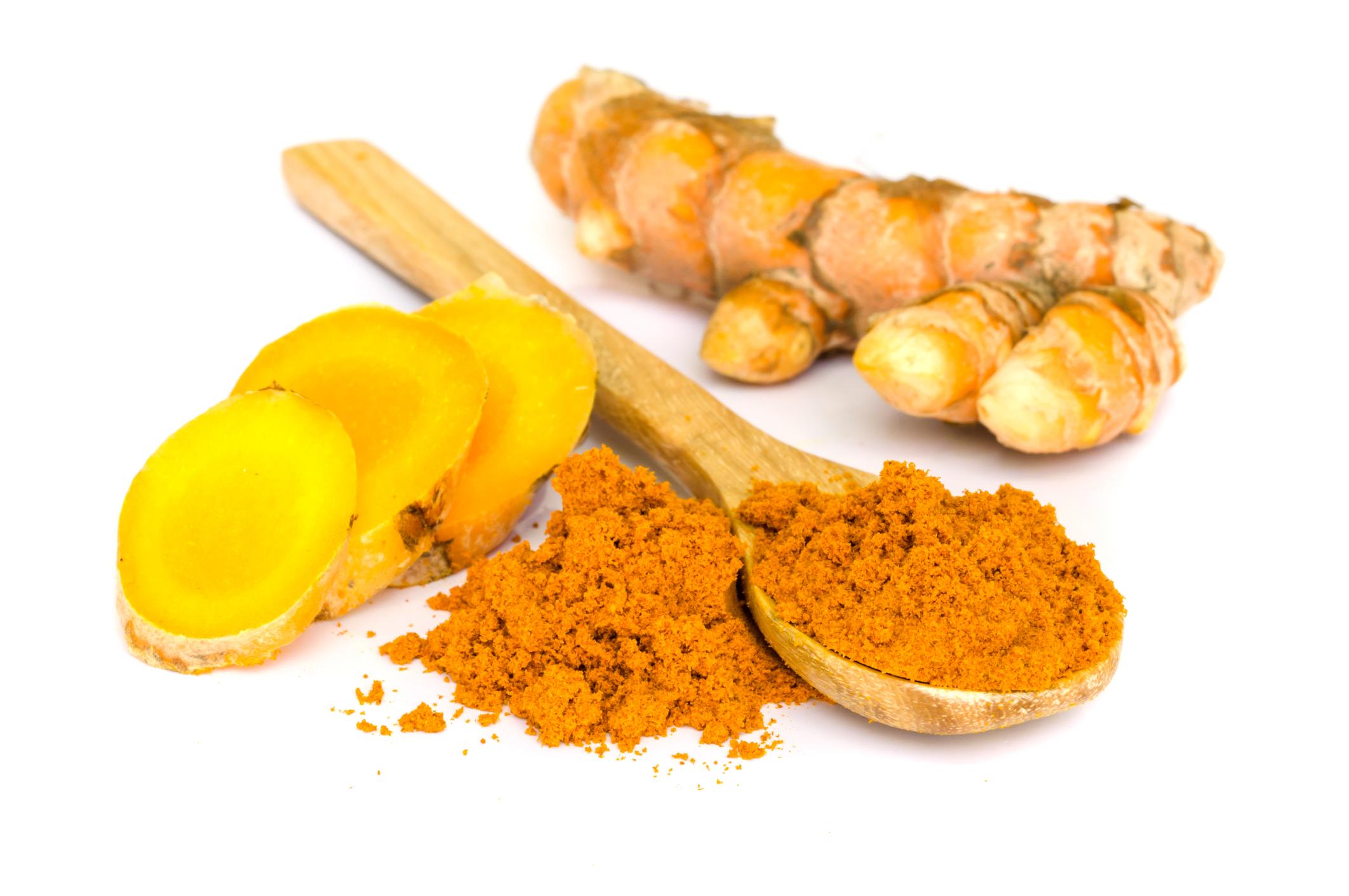 Gurkemeie og ingefær