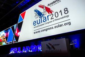 Logoen for EULAR 2018