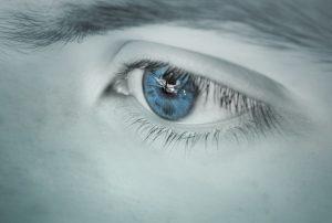 Øye i blåtoner