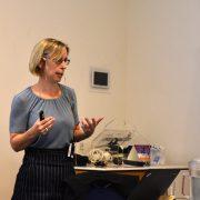 Prof. Emma Duers holder foredrag