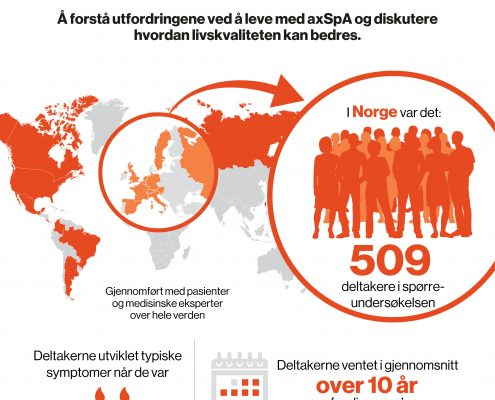 Illustrasjon over antall deltagere fra Norge