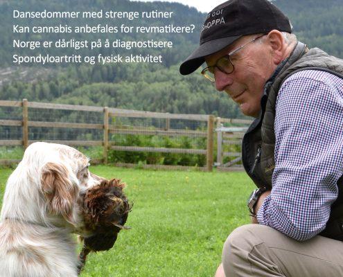 Forside Spondylitten Tor Fløysvik med hund
