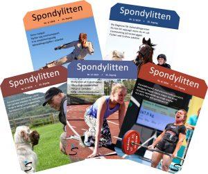 Forsidene Spondylitten 2019
