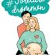 Illustrasjon av kvinne med gravid mage og mann som holder rundt henne