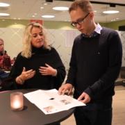 Representant fra Spafo Norge i politikermøte med Tellef Inge Mørland
