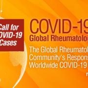 Tekstillustrasjon om den nye Covid-19 Global Rheumatology Alliance