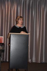 Dr. Jadranka Glisic på talerstol