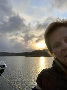 Selfiebilde av Tone Solbjørg Dagsloth