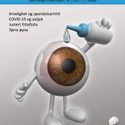 Forside Spondylitten 1-21 - figur av øye drypper øyedråper