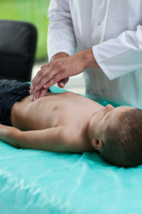 Undersøkelse mage barn
